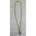 "32"" Antiqued Brass Byzantine Chain"