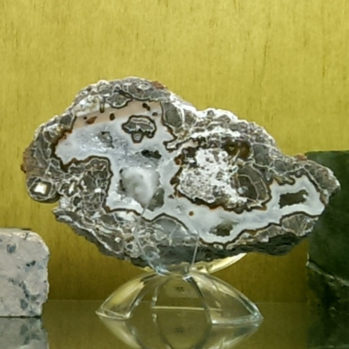 Baker Geode Polished Half #8